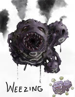 Weezing by lordrhino15