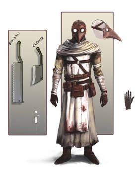 Plague Doctor concept