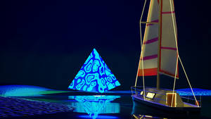 Strange Triangle On the Sea