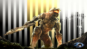 Halo 4 Master Chief Wallpaper by Browniehooves