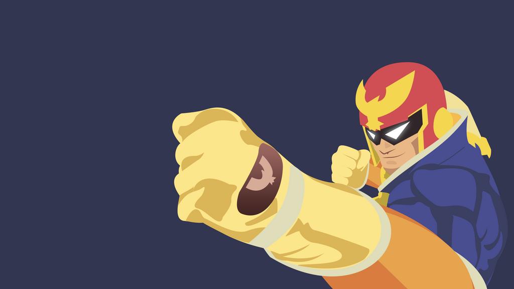 captain falcon wallpaper reddit smash bros