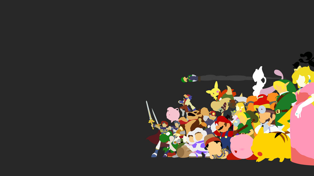 Melee minimal wallpaper by Browniehooves