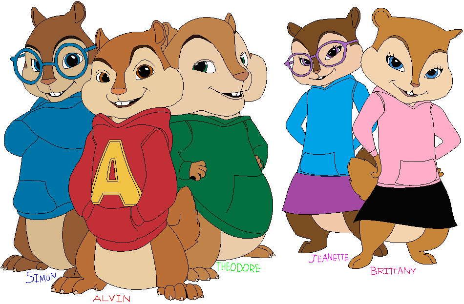 Alvin And The Chipmunks, Brittany And The Chipette By