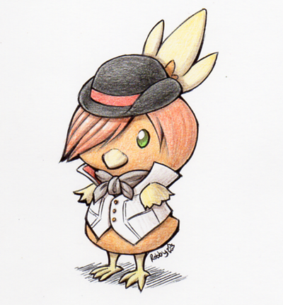 Roman Torchic by RobanCrow