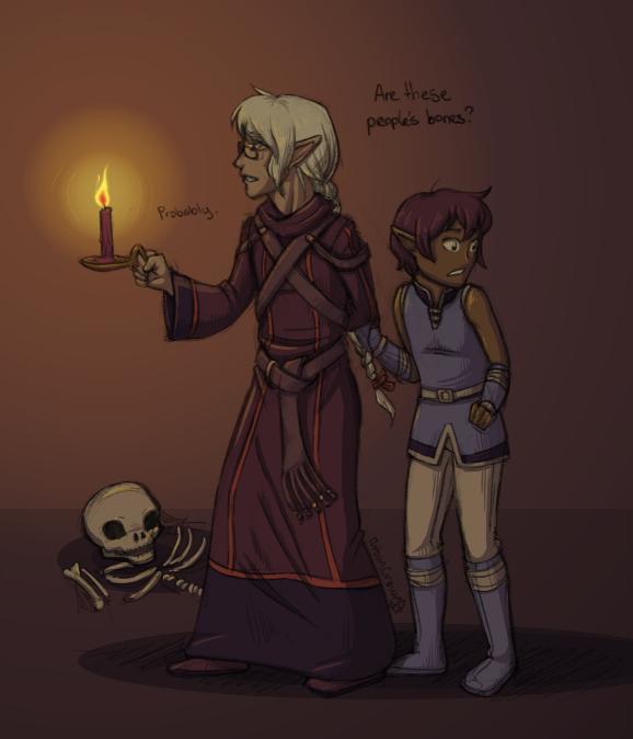 Halloween 12 - Bones by RobanCrow