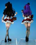 Choco Maids, Tohsaka Rin and Matou Sakura 1