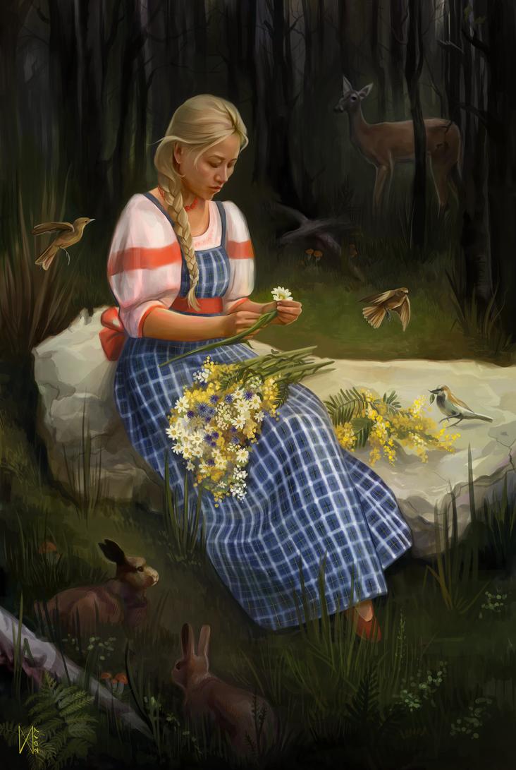 Alionushka by EnyaMahuta