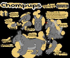 :CHOMPUPS: semi-open species