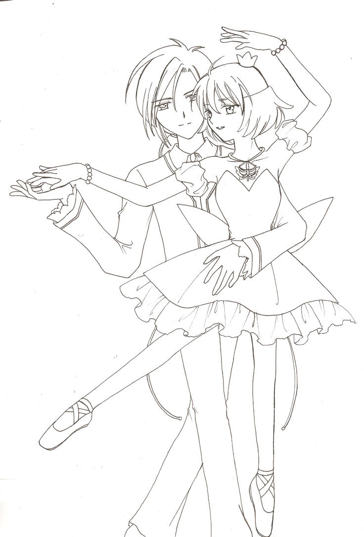 coloring pages tutu - photo#4