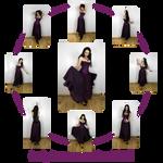 Lady Ravenwaves stock set 1 by charligal-stock