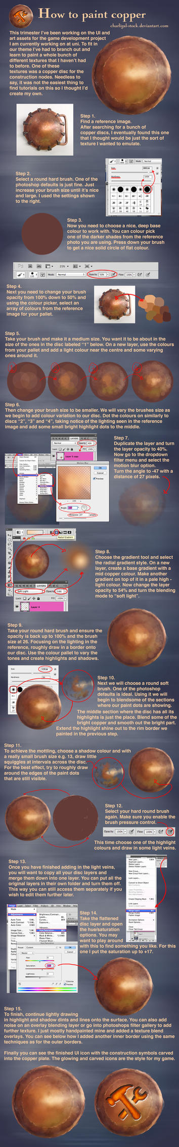 How To Paint Copper by charligal-stock