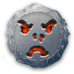 UI Icon OrcFrowny by charligal-stock