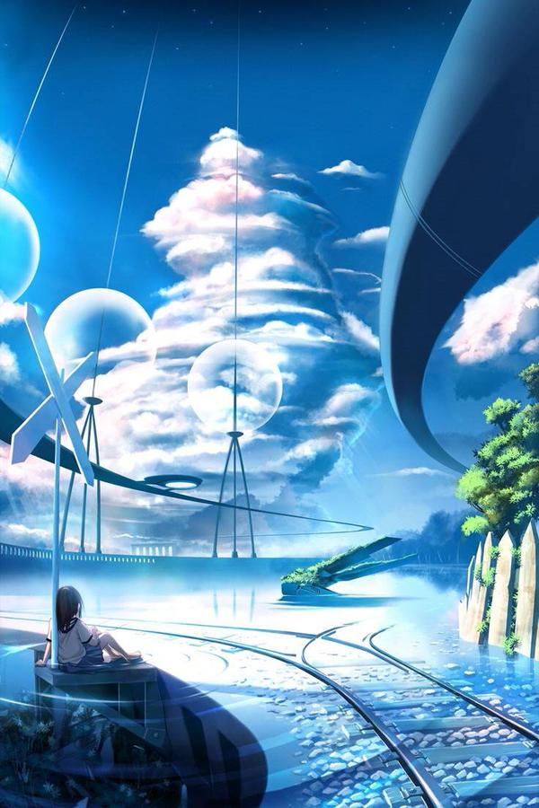The Beautiful Anime World By Ashura Wolf