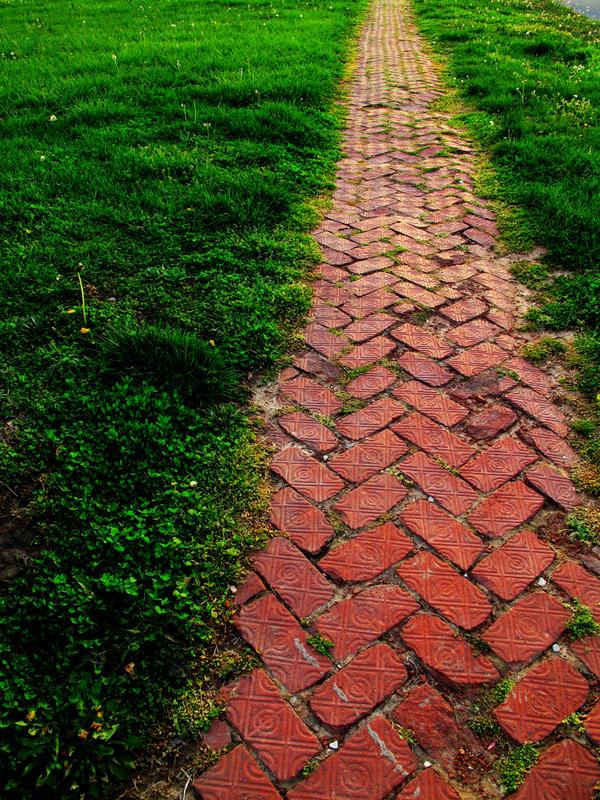 Sidewalk II by sheishere