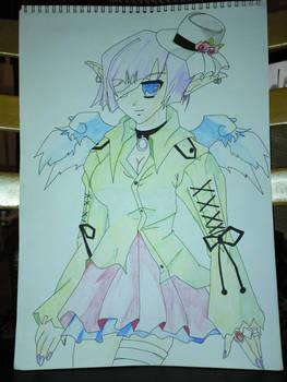 manga girl 3