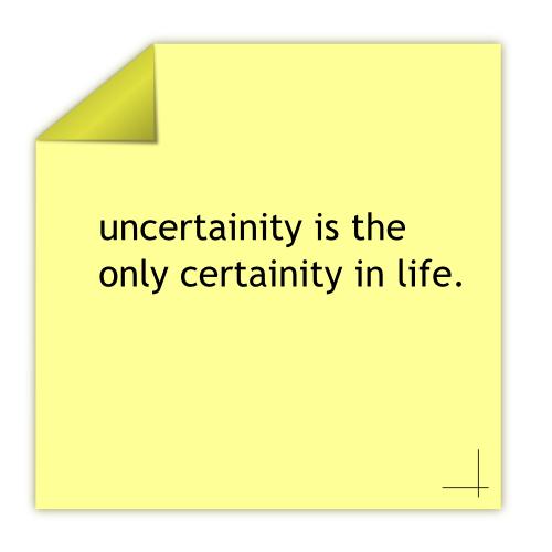 Uncertainity... by rockraikar