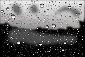 Rain drops by rockraikar
