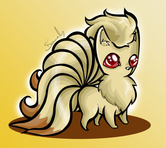 Ninetails by Diamondza