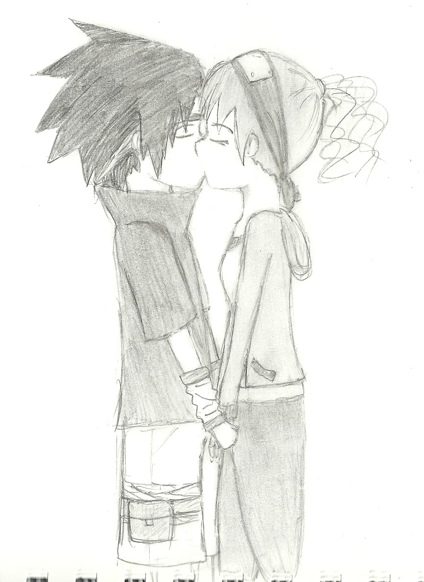 My OC and Sasuke by guardian-angel15
