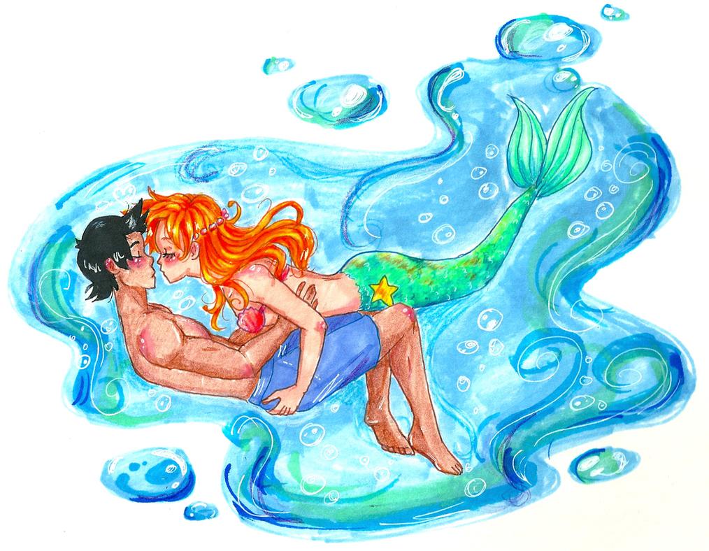 Underwater Hevan by guardian-angel15