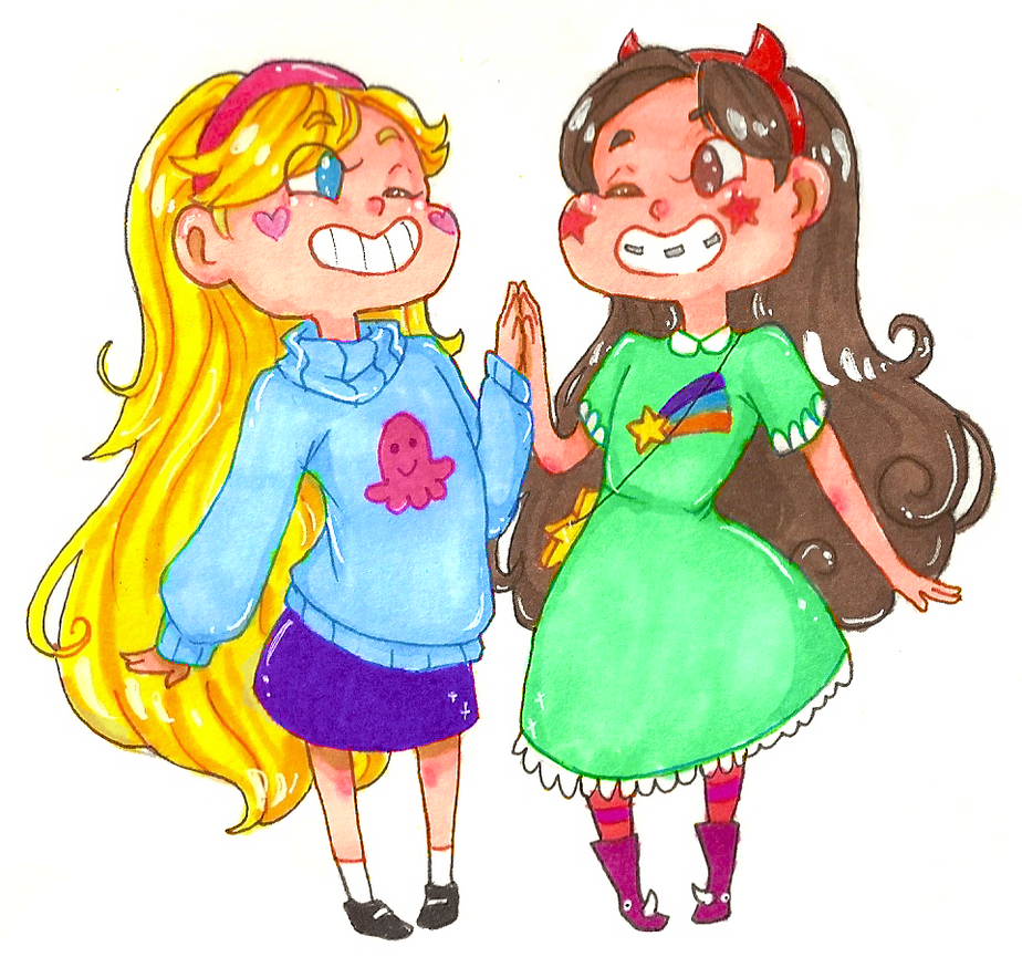 Happy Girls by guardian-angel15