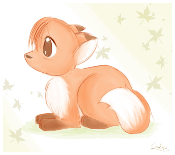 Foxstar Family Kawaii_Fox_by_Cocokun