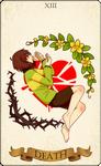 'DEATH' - Undertale tarot card
