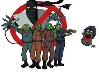 Teenage Mutant NinjaBusters by JarOfLooseScrews
