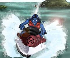 Jet Skiing Is Fun by JarOfLooseScrews