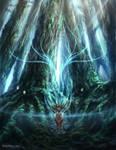 Princess Mononoke- Forest Spirit