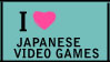 Japanese Video Games Stamp by jadesama