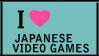 Japanese Video Games Stamp by jadesama