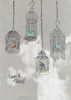 Caged bird by tabithaemma
