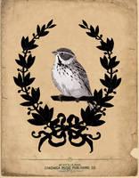 framed bird by tabithaemma