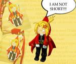 Edward Elric- I'm not short