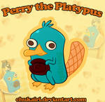 Perry the Platypus-Keychain by Morigalaxy