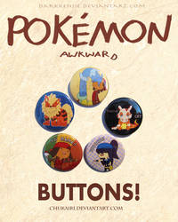 Pokemon Awkward Buttons by Morigalaxy