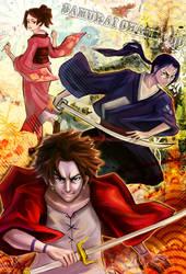 Samurai Champloo by Morigalaxy