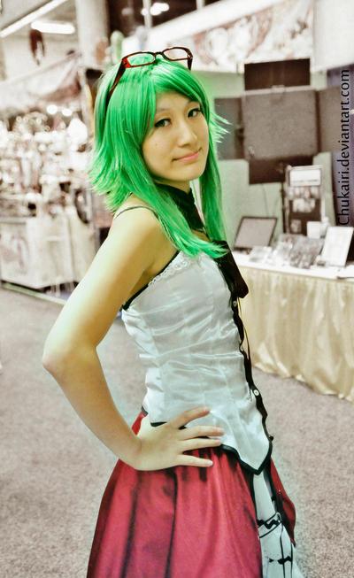 Gumi at Comic Con by Chukairi