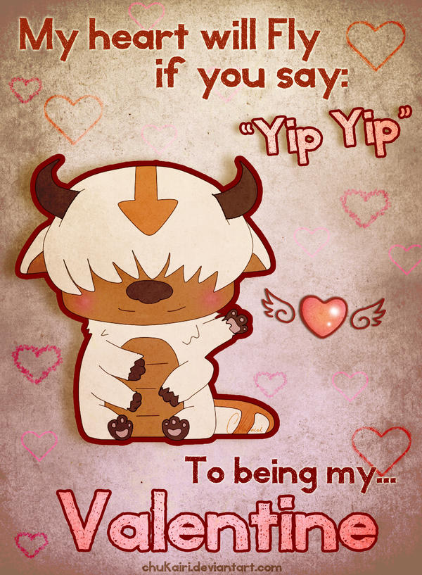 Yip yip Valentine by Chukairi