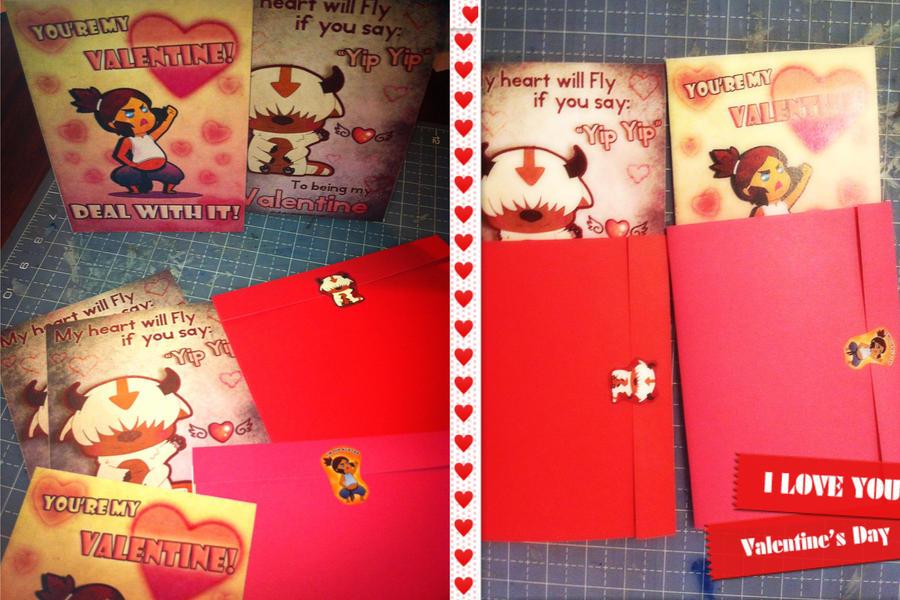 Valentine's Day Cards by Chukairi