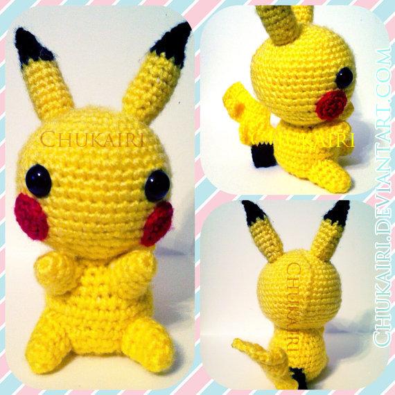 Pikachu Amigurumi by Chukairi on DeviantArt