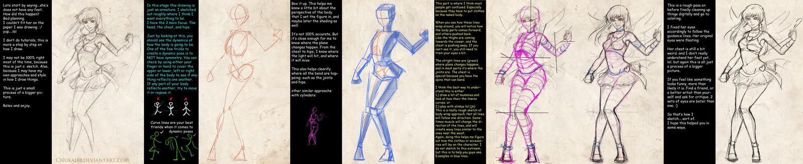 Sketch Process by Chukairi
