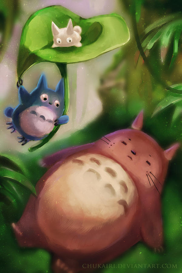 My Neighbor Totoro by Chukairi