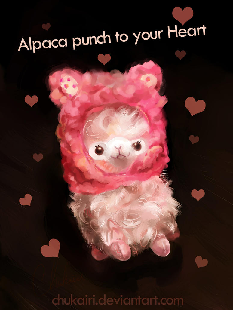 Alpaca you some pink by Chukairi