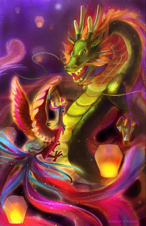 The Dragon and the Phoenix by Chukairi