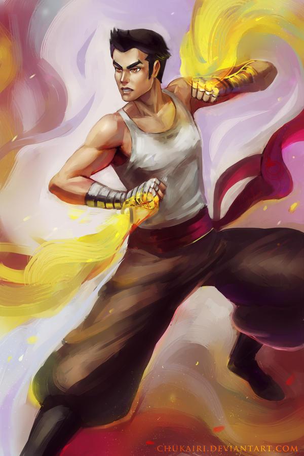 Mako Legend of Korra by Chukairi