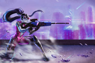 Widowmaker: One shot One kill by Morigalaxy