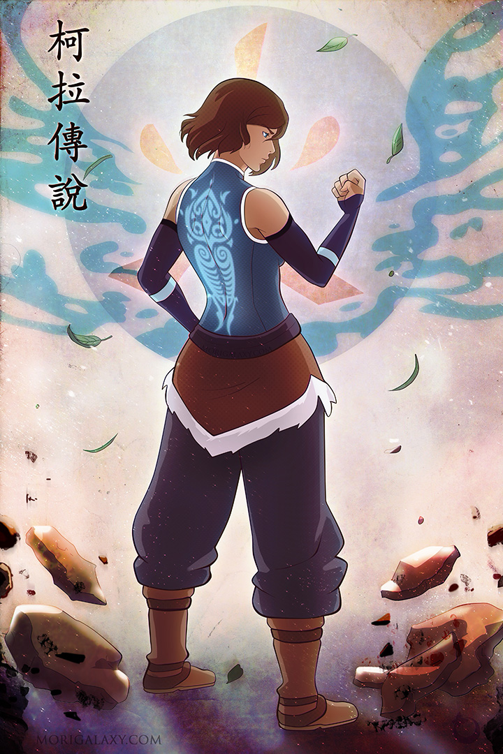 Korra I am Legend by Morigalaxy
