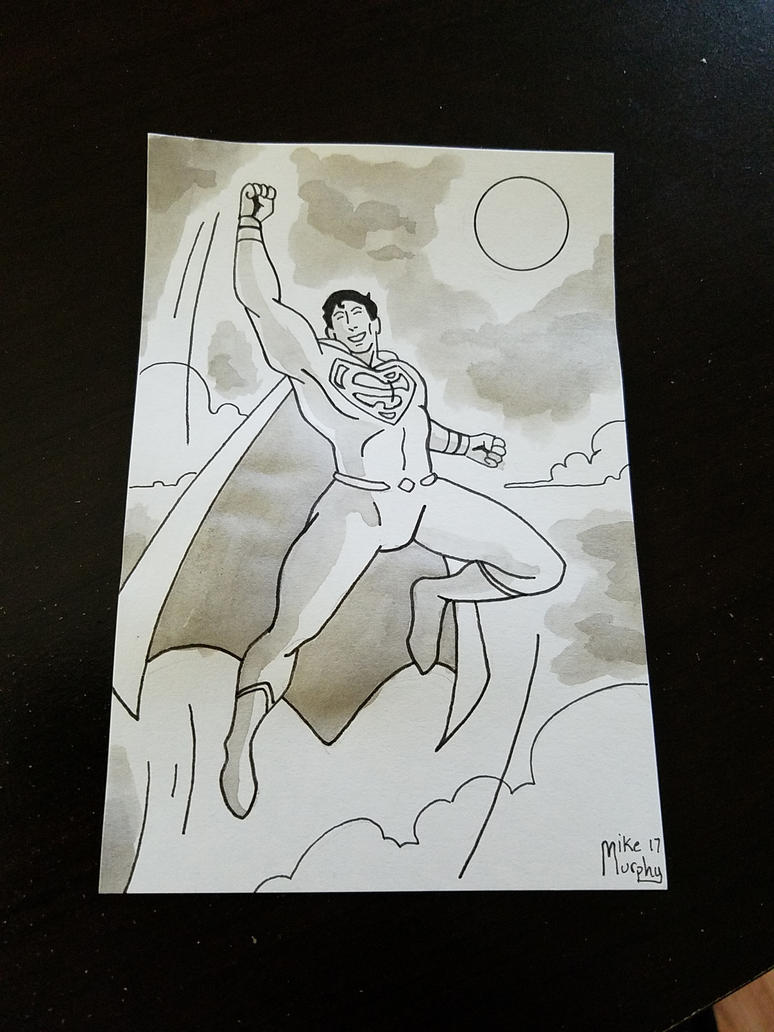 Superman by chibimikemurphy